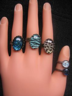 Diy nail polish jewelry. Earrings and ring tutorial