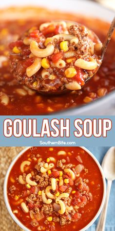 Goulash Recipes, Chili Recipes, Crockpot Recipes, Cooking Recipes, Healthy Recipes, Chowder Recipes, Soup Recipes, Goulash Soup, Soup And Sandwich