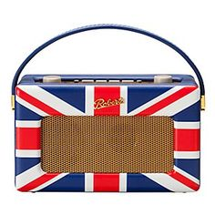 My fave ROBERTS Revival Radio, covered in the Union Jack!