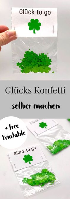Konfetti selber machen als Glücksbringer und DIY Geschenke Make confetti yourself. Make good luck birthday or New Year's Eve yourself. Simple and fast DIY idea. Ideal DIY gift or souvenir for the New Year's Eve party. New Years Party, New Years Eve, Homemade Gifts, Diy Gifts, It's Your Birthday, Birthday Gifts, Diy Silvester, Wallpaper World, Ideias Diy