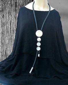Lagenlook- Kette* Halskette*XXL Schmuck*Lange Modekette