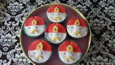 #Brandweerman cupcakes