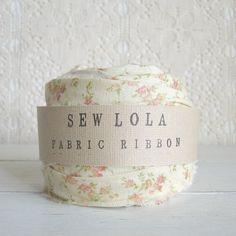 fabric ribbon - blissful day