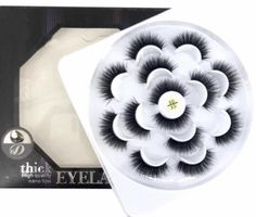 Our Fluffy Mink Lashes Bundle come with seven pairs of astonishing thick lash strips to give your eyelashes a fuller, more extravagant appearance. These lashes are re-usable and will maintain their high quality appearance as long as they are cleaned after every use. Each style offers a unique finish to your look and will take your make-up that one step further to create a flawless effect. Thick Lashes, Makeup Yourself, Mink, Eyelashes, Pairs, Cosmetics, Create, Unique, Style