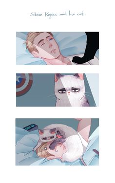 PTSD: The Soldier's DiariesSteve Rogers and his cat | day start
