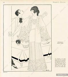 Worth 1930 Lace Jacket, Pyjamas, Charles Martin