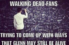 13 Memes That Show How Glenn Could Survive the Dumpster Situation | The Walking Dead fanatics