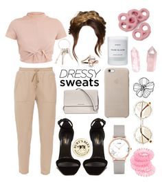 """dressy dressy"" by sofiaimz ❤ liked on Polyvore featuring MaxMara, Yves Saint Laurent, CLUSE, Miss Selfridge, River Island, Burt's Bees, Givenchy, Michael Kors and Byredo"
