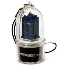 Spin and light up when you get a call  Work even if your phone is on silent  Tardis, Dalek, and Cybermen versions available