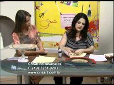 Souplat - Artesã Marisa Magalhães - Aquarela Brasil Tintas - parte 1/2 - YouTube