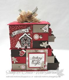 A CHRISTMAS PROJECT CLASS!!   I love Advent Calendars of any kind! I guess that is because I grew up with them and it has a special place...