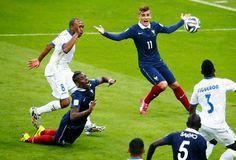 Blog Esportivo do Suiço: Com direito a gol da tecnologia e Benzema inspirado, França atropela Honduras