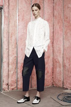 Alexander Wang Pre-Fall 2014 Fashion Show - Lexi Boling