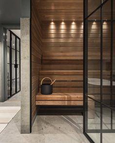 Om oss och vad vi gör - information om företaget - Smidesrum Sauna Design, Home Gym Design, Modern House Design, Basement Sauna, Sauna Room, Home Spa Room, Spa Rooms, Deco Spa, Bathroom Design Luxury