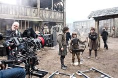 Behind the scenes of you favorite shows #GoT