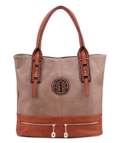 Taupe Isabelle Tote by MKF Collection #zulily #zulilyfinds