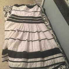 The limited strapless dress Bickel  and white  striped strapless dress The Limited Dresses Strapless