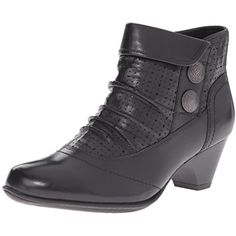 Rockport Cobb Hill Women's Daniela Boot ** Click on the image for additional details. (This is an affiliate link) #AnkleBootie
