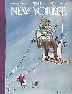 The New Yorker, January 30, 1960 - Charles Saxon