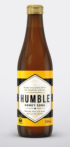 Humble Honey Soda — The Dieline - Branding & Packaging