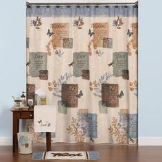 Anna Linens Bathroom Sets Home Pinterest Window Curtains And Windows