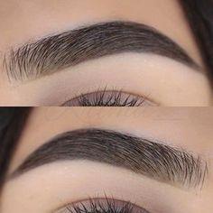 perfect-eyebrows-made-easy-with-semi-permanent-make-up - More Beautiful Me 1 Makeup Goals, Makeup Inspo, Makeup Inspiration, Eyebrow Makeup Tips, Skin Makeup, Eyebrow Pencil, Makeup Brush, Maquillage Yeux Cut Crease, Eyebrows On Fleek
