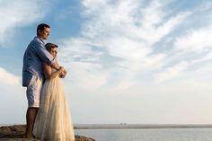 Ensaio pré-wedding na praia Ana Beatriz e Lucas Bride Style