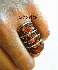 neXpréssate!!! Anillo nespresso con tres bandas de aluminio - Nespresso capsule ring with three aluminium wire bands