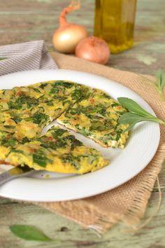 Omelette au silène enflé {plante sauvage} : http://tomatesansgraines.blogspot.fr/2018/04/omelette-au-silene-enfle-plante-sauvage.html