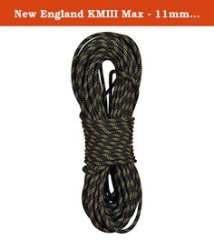 New England KMIII Max - 11mm 150 ft. Based on the standard setting KMIII the KMIII MAX takes durability and great handling to the next level. If you are looking for the most durable static rope out there the KMIII is your rope. TPT weaving technology gives the KMIII MAX a lower profile sheath reducing drag and increasing durability. Maximum wear, maximum longevity.