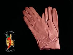 Pink lambskin leather women winter gloves with cashmere lining size 7 - ZULMA Winter Gloves, Lambskin Leather, Mittens, Purple, Pink, Burberry, Cashmere, Best Deals, Collection
