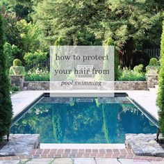 how to protect your hair from the pool | life in blush