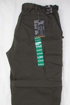 BC Clothing Convertible Cargo Pants Shorts Relaxed Straight Camping Hiking XL #BCClothing #Pants