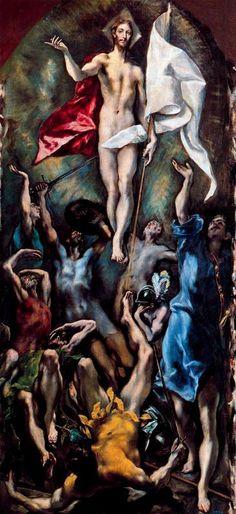 EL GRECO LA RESURECCION