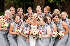 Chic Pink and Gray Wedding Meagan Warren Weddings | Courtney Dox Photography | 701 Whaley | Columbia, SC