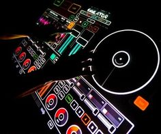 Multitouch turntable emulator