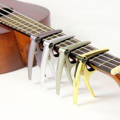 Musedo MC-3 Ukulele Capo High Quality Metal Guitar Capo Small Size Instruments for Ukulele #Affiliate
