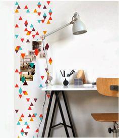 Groovy Magnets: Papier peint magnétique et personnalisable – Miluccia