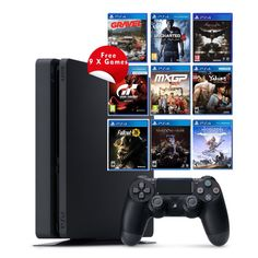 ☃️ PS4 500GB Slim Console + 9 Games - R7,399   Whatsapp: +27 10 786 0152   Follow us: @MHCWorld1 @mhc_games   #MHCWorld #PS4 #PS4Pro #Gamer4Life #Gamersunite #Gamerforlife #Gamers #SouthAfricangaming #SlimConsole   E&OE Until stock lasts!
