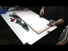 Preparación de papel para pintar con acuarela - YouTube