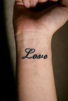 believe in yourself tattoo wrist - Buscar con Google
