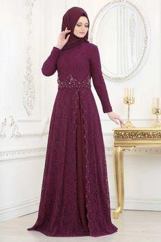 Hijab Evening Dress, Hijab Dress Party, Lace Evening Dresses, Lace Dresses, Dress Brokat Muslim, Muslim Dress, Dress Brukat, Kebaya Dress, Simple Pakistani Dresses