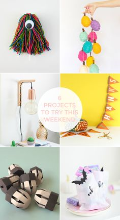 FRIDAY FAVOURITES #67 Yarn Monsters, Wooden Walls, Give Thanks, Happy Thanksgiving, Happy Friday, Garland, Whimsical, Kids Rugs, Pretty