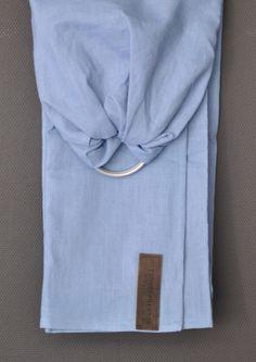 Een persoonlijke favoriet uit mijn Etsy shop https://www.etsy.com/nl/listing/236104297/ringsling-fresh-blue-zwarte-ringen