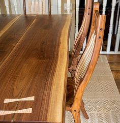 A review of some of my favourite projects from 2016 - this is a walnut Sam Maloof inspired dining set #calgarywoodworkers #bench #calgarywoodworking #yycwoodworker #maloof #yycwoodworking #garawood #2016 #yearinreview #wood #woodporn #woodreview #finewoodworking #festool #kutzall #generalfinishes #osmo #house #home #kitchen #furniture #chair #dining #woodworking #titebond #walnut #maple #padauk #rocker #rockingchair