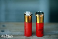 *Someone* would like this one shotgun shells and rings