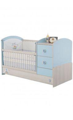 Cuna convertible Baby Boy de Cilekspain, dormitorios temáticos Baby Bedroom, Bedroom Sets, Bedroom Decor, Baby Box, Prams, Diy Home Decor, Kids Room, Toddler Bed, Pregnancy