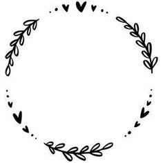 Doodle Frames, Doodle Art, Arts And Crafts, Paper Crafts, Diy Crafts, Embroidery Patterns, Hand Embroidery, Fond Design, Silhouette Design