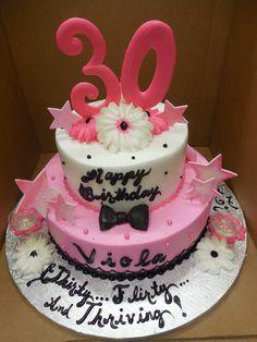 Calumet Bakery  30th birthday cake