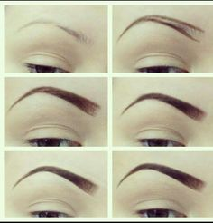 Perfect eyebrows how-to